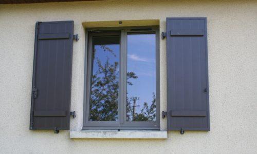 Fenêtres mixte alu/bois à Coutances dans la Manche