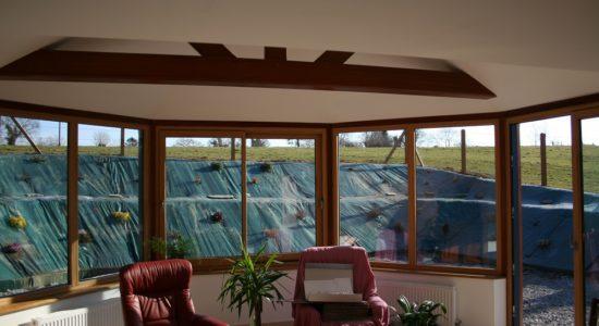 Fenêtres mixtes Alu/bois à Coutances dans la Manche