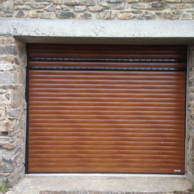 Porte de garage enroulable à Coutances dans la Manche