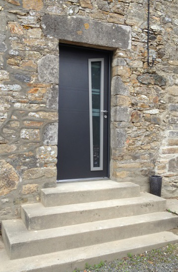Porte d'entrée aluminium sur Saint-lô, Coutances, Caen, Vire, Cherbourg, Granville