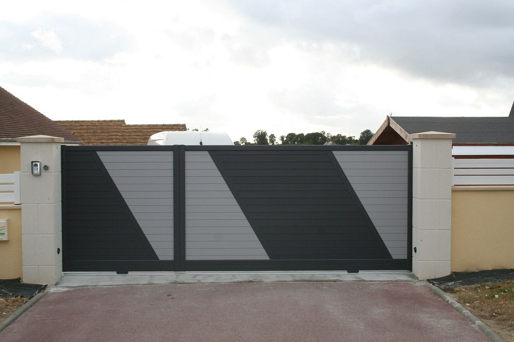Portail aliminium sur Saint-lô, Coutances, Caen, Vire, Cherbourg, Granville