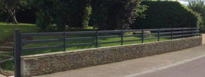 Clôture aluminium à Coutances dans la Manche