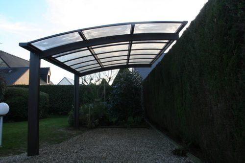 Carport aluminium à Coutances dans la Manche