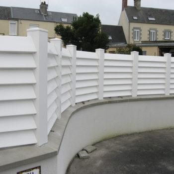 Clôture à Coutances dans la Manche