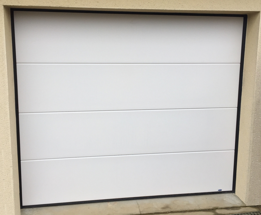 Portes de garage archives socodime - Installer une porte de garage sectionnelle motorisee ...