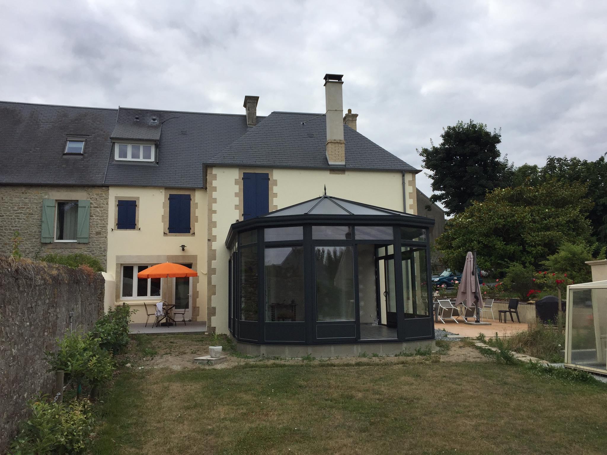 Réalisation d'une Véranda aluminium sur Bayeux dans le Calvados - Socodime