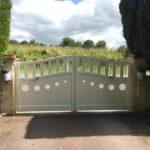 Portail aluminium Isigny sur Mer Calvados