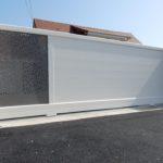 Portails et clôture aluminium St Germain sur Ay Manche